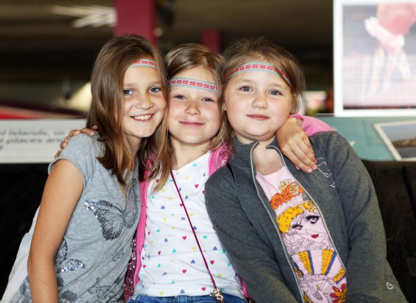 With Compliments Thursday 24th June 2016: The 30th anniversary Chernobyl group arrived in Shannon on Friday. Our photograph shows new arrivals Yuliya(10), Sasya(8) and Yuliya(9).  Photograph Liam Burke/Press 22