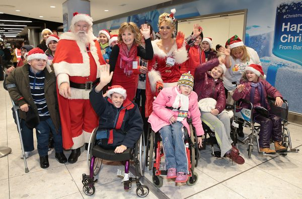 """Adi Roche  when she  welcomed the group of 39 children with special needs – many of whom have come from turbulent backgrounds – flew into Dublin today from the Chernobyl region of Belarus to Ireland for the best Christmas holiday of their lives.  Picture Brian McEvoy No repro fee   The children, some orphaned, some abandoned by parents who were unable to cope with their illnesses and disabilities, live in a remote region of Belarus that is heavily affected by the fallout of the Chernobyl disaster of 1986.     Many of these children reside in Vesnova Children's Mental Asylum, an orphanage which was hidden in a veil of secrecy during the years of the Soviet Union. It was discovered by Irish volunteers working with Adi Roche's Chernobyl Children International charity in the early 1990's. Since then it has been transformed into a world class child care centre and each year scores of its residents come to Ireland for Christmas and summer rest and recuperation holidays.     CCI Founder and Voluntary CEO, Adi Roche  welcomed the latest group of highly excited children into Dublin Airport  where they met by the Irish host families with whom they will spend their Christmas holidays.  They arrived shortly after at 14.35 following a very early start and a long journey from Belarus to Ireland, via Lithuania.   Voluntary CEO of CCI Adi Roche said, """"The Irish people have been reaching out to these children for thirty years and not only has their enthusiasm and kindness never wavered, it actually grows every year. This year is particularly poignant as we have been reminiscing, throughout this 30th Anniversary year, about the children who have crossed our paths…many of whom aren't with us anymore. The care and affection given by Irish families to these children helps their physical health, mental health and their emotional and cognitive development.  What they provide is truly priceless!""""     """"For many of these children, nothing as magical as this will ever have happened in their l"""