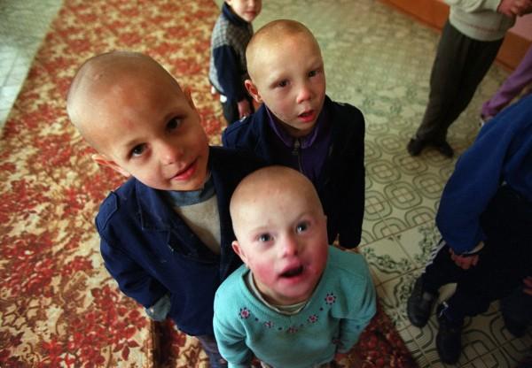 Children in Vesnova JB