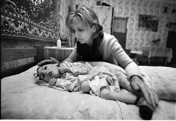 pics for chernobyl sty pic shows adi roche with ira kochybayeva (5) in vesnova pic julien behal