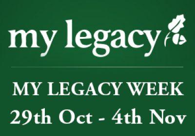 My Legacy Week 18