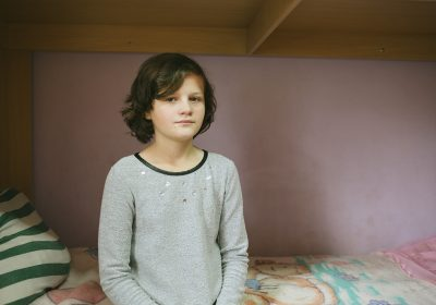 At just 11 years old, Inga has had a very difficult childhood
