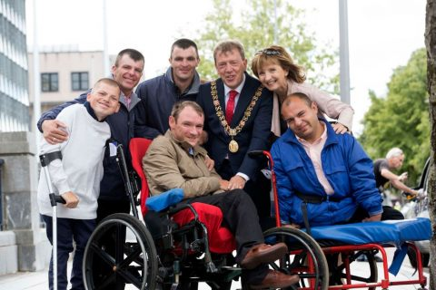 Lord Mayor of Cork welcomes Rest and Recuperation participants to Cork City Hall